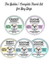 THE BUBBA | TRAVEL SET HEALING BALMS FOR BOY DOGS