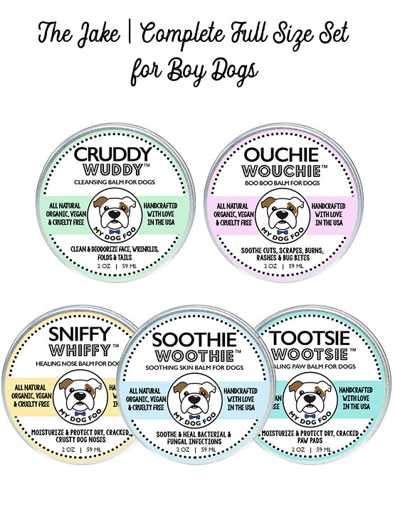 THE JAKE | LARGE SET HEALING BALMS FOR BOY DOGS