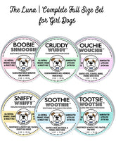 THE LUNA | LARGE SET HEALING BALMS FOR GIRL DOGS
