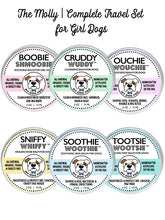THE MOLLY | TRAVEL SET HEALING BALMS FOR GIRL DOGS