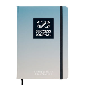 SUCCESS JOURNAL, A Productivity Goal Planner, US English (Serious Blue)