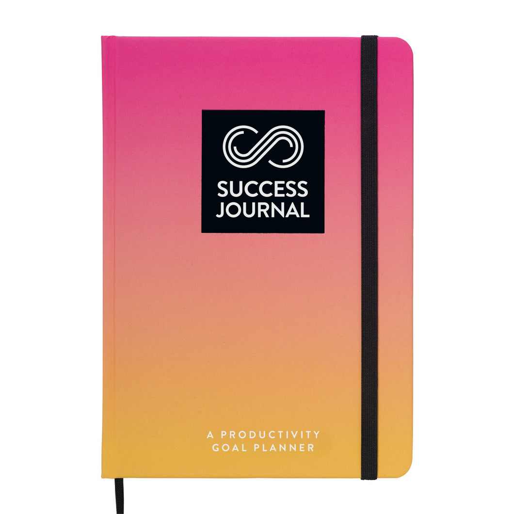 SUCCESS JOURNAL, A Productivity Goal Planner, US English (Sunny Pink)