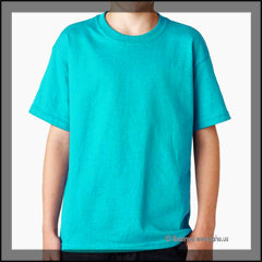 Kids Heavy Cotton Tee Blue