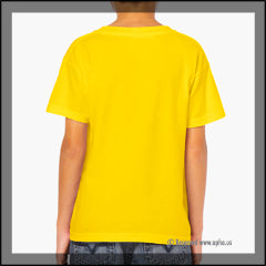 Kids Heavy Cotton Tee Yellow
