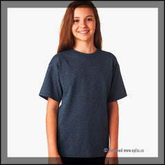 Kids Heavy Cotton Tee Navy