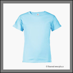 Kids Regular Fit Tee Blue Front