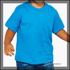Toddler Tee Blue Front