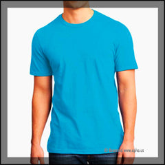 Mens Very Important Tee Sample Blue Front