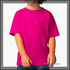 Toddler Fine Jersey Tee Pink Front