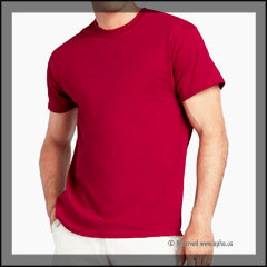 Unisex Heavy Cotton Tee Red