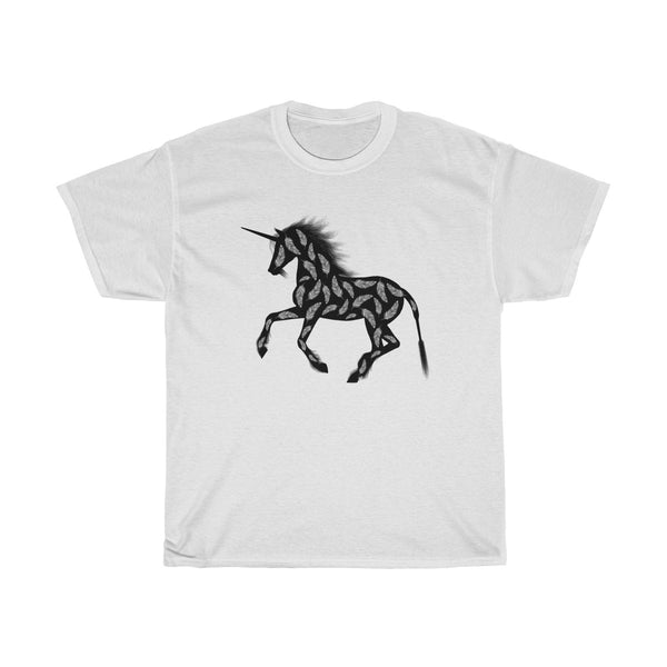 Feather Unicorn Unisex Classic Fit T-Shirt (Light Colored)