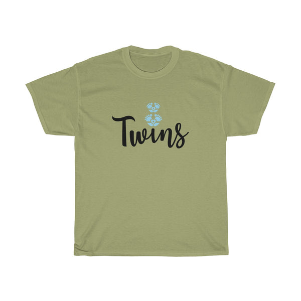 Twin Boys Womens Classic Fit T-Shirt Gray