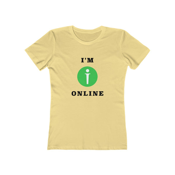 I am Online Womens Slim Fit Longer Length T-Shirt