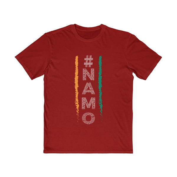 NaMo 1 Mens Semi Slim Fit T-Shirt Red