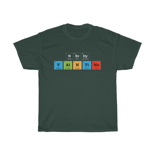 Periodic Table Nerdy Valentine Unisex Classic Fit T-Shirt