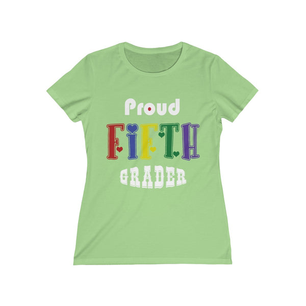 Proud Fifth Grader Womens Feminine Fit T-Shirt