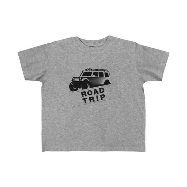 Road Trip Toddler Classic Fit T-Shirt Gray