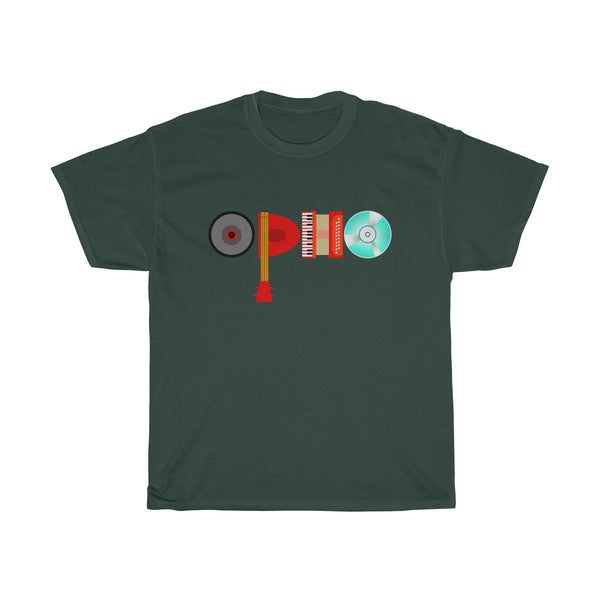 opho Musical Instruments Unisex Classic Fit T-Shirt Green