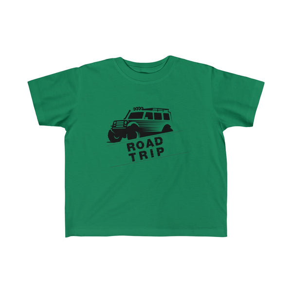 Road Trip Toddler Classic Fit T-Shirt Green