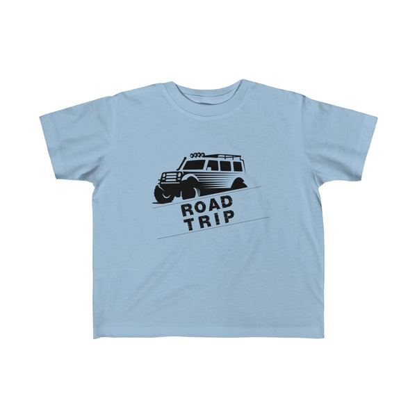 Road Trip Toddler Classic Fit T-Shirt Blue