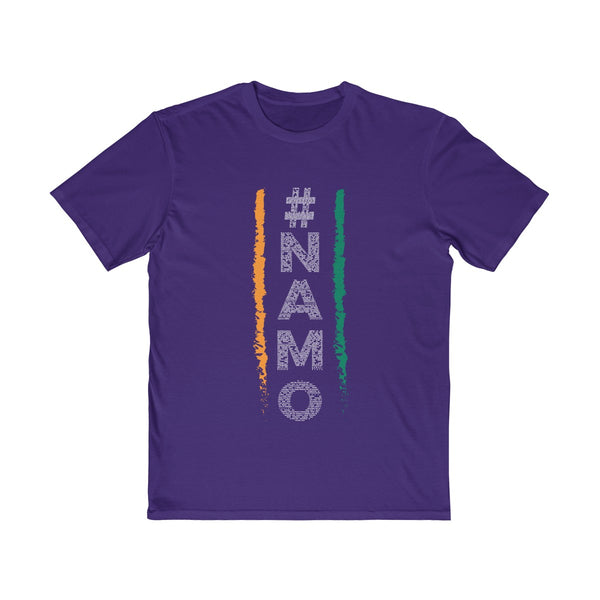 NaMo 1 Mens Semi Slim Fit T-Shirt Purple