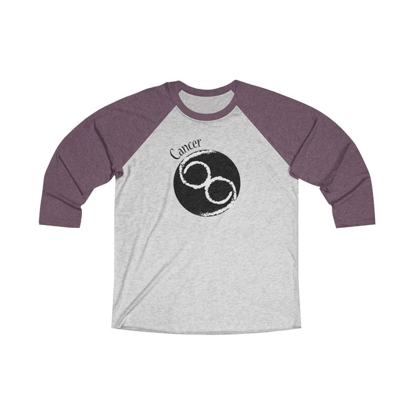 Cancer Zodiac Unisex Raglan T-Shirt
