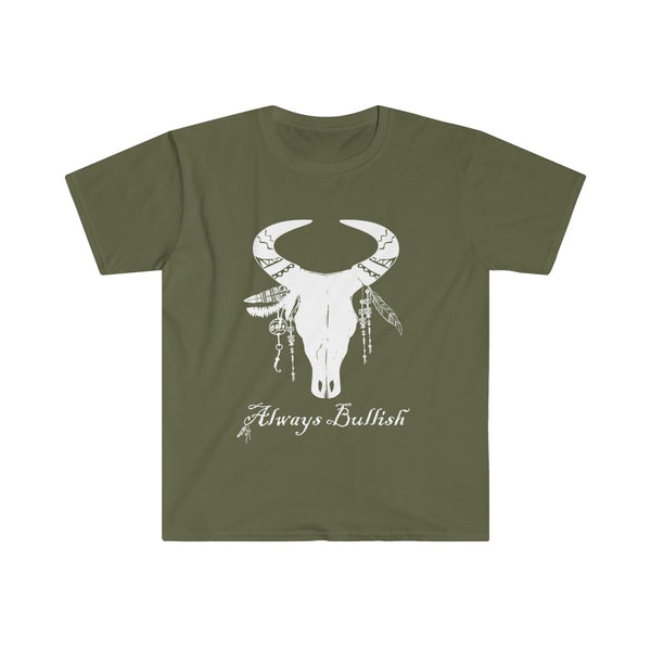 Always Bullish Men's Eurofit Short Sleeve T-Shirt Green