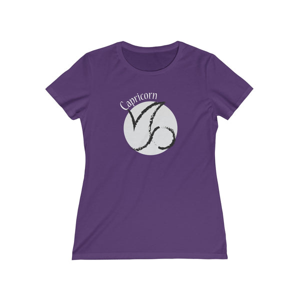 Capricorn Zodiac Womens Feminine Fit T-Shirt