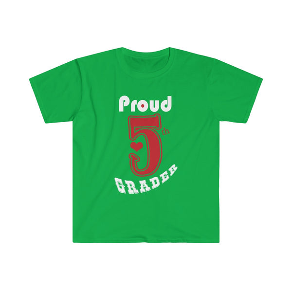 Proud 5th Grader Mens Eurofit Short Sleeve T-Shirt