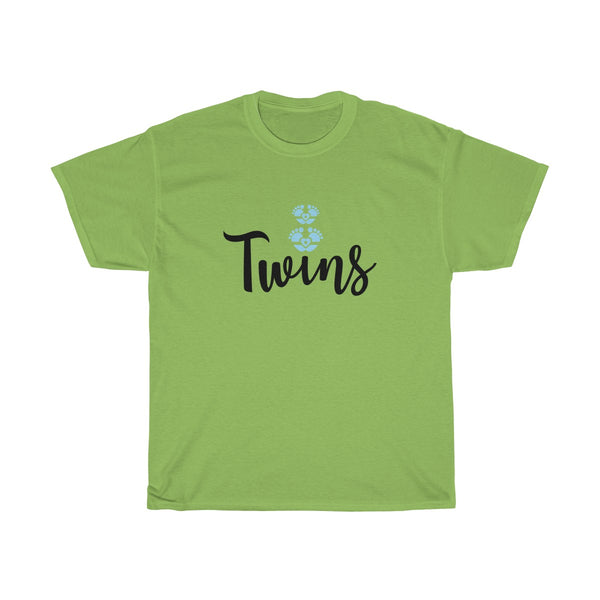 Twin Boys Womens Classic Fit T-Shirt Green