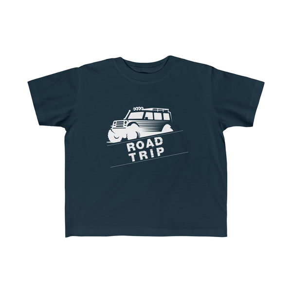 Road Trip Toddler Classic Fit T-Shirt Navy