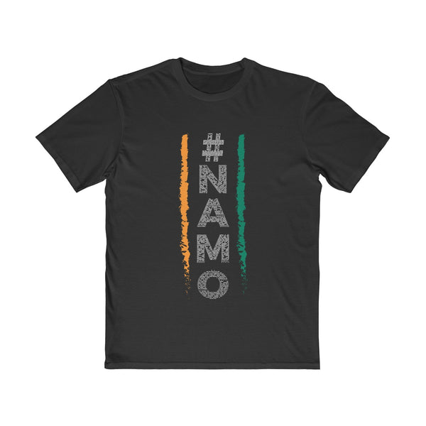 NaMo 1 Mens Semi Slim Fit T-Shirt Black