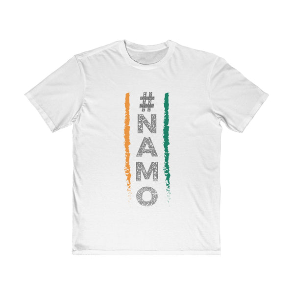 NaMo 1 Mens Semi Slim Fit T-Shirt White