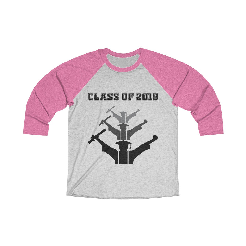 Class of 2019 Exhilarated Grads Unisex Raglan T-Shirt