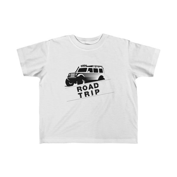 Road Trip Toddler Classic Fit T-Shirt White