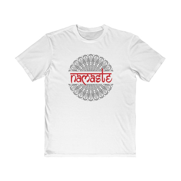 Namaste Mandala Men's Semi Slim Fit T-Shirt