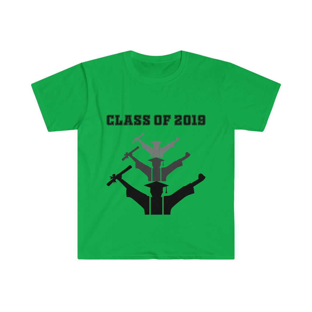 Class of 2019 Exhilarated Grads Men's Eurofit Short Sleeve T-Shirt