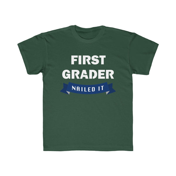 School First Grade Kids Regular Fit T-Shirt