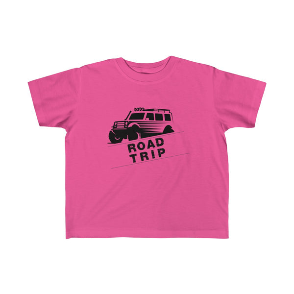 Road Trip Toddler Classic Fit T-Shirt Pink