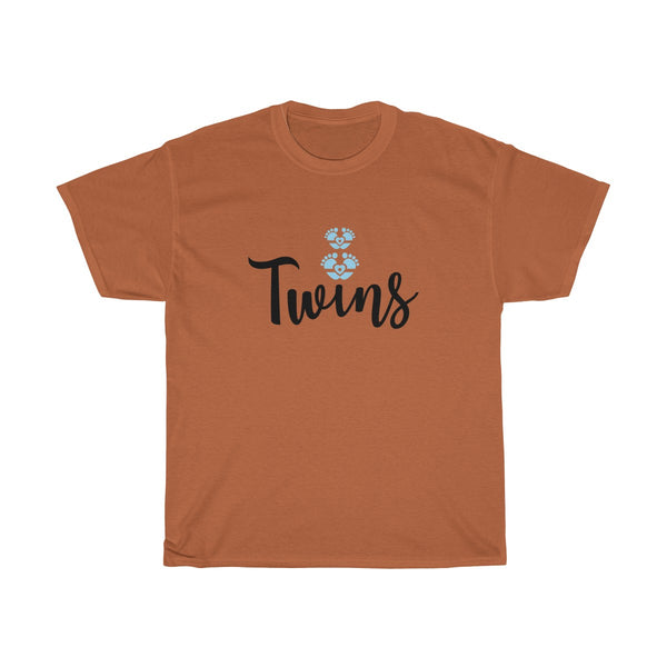 Twin Boys Womens Classic Fit T-Shirt Brown