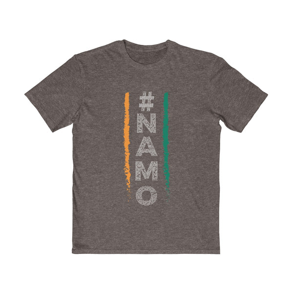 NaMo 1 Mens Semi Slim Fit T-Shirt Brown