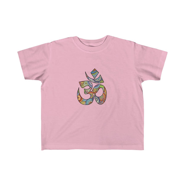 Colorful Hand Drawn Om Symbol Toddler Classic Fit T-Shirt