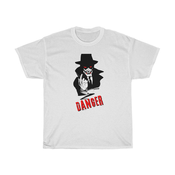 Halloween Vampire Danger T-Shirt White