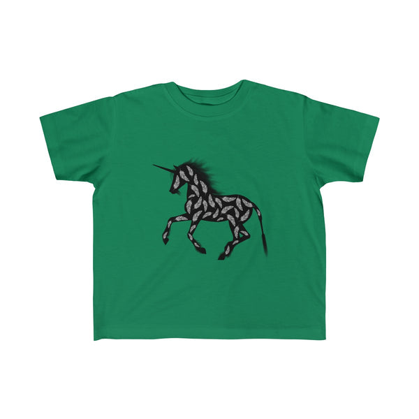 Feather Unicorn Toddler Classic Fit T-Shirt