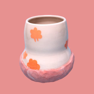 head in the clouds ceramic cup