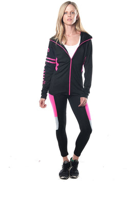 Ladies fashion active 2 pc set outfit - comfy-cozy18