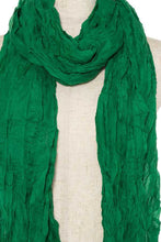 Load image into Gallery viewer, Oblong wrinkled solid scarf - comfy-cozy18