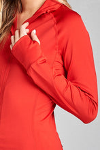 Load image into Gallery viewer, Ladies fashion solid track jacket - comfy-cozy18