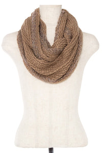 Soft knit infinity scarf - comfy-cozy18