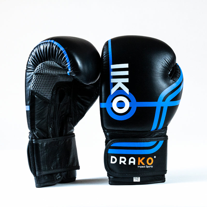 DRAKO BULLS EYE LEATHER BAG GLOVES